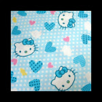 Photo: *Hello Kitty Blue* *hard to find fabric