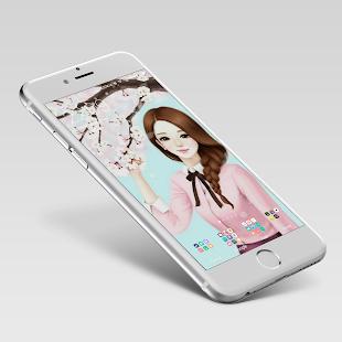 Laurra Cute Girl Wallpaper - náhled