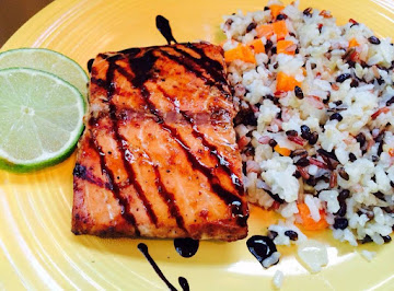 Grilled Salmon With Hoisin Sauce Recipe