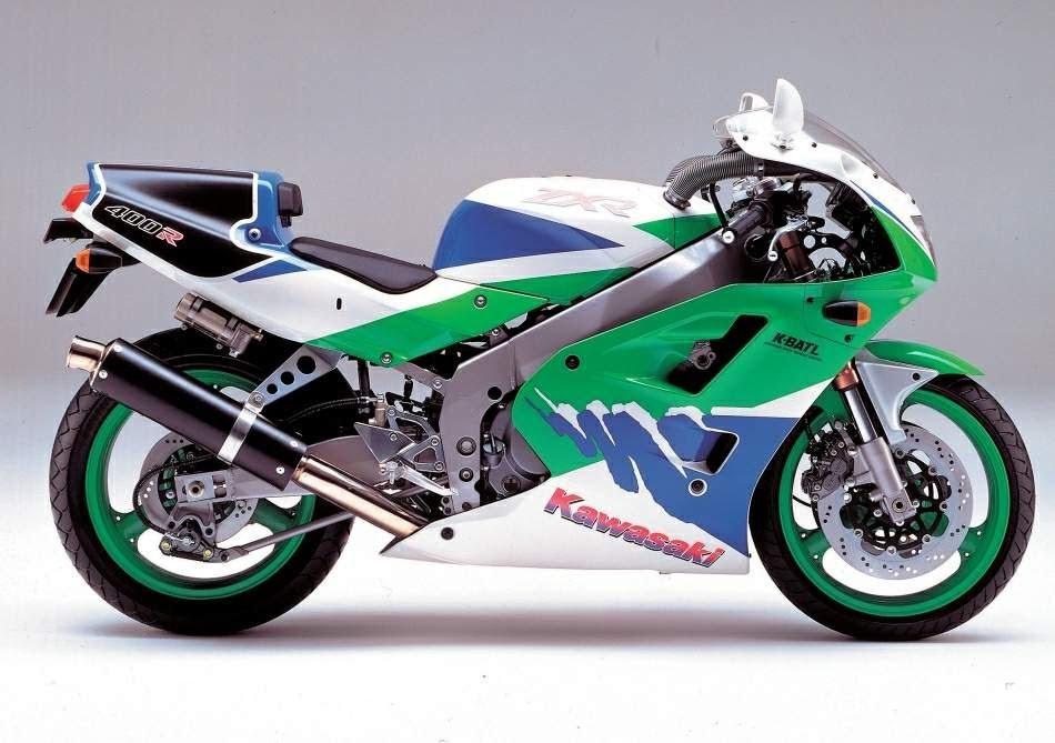 Kawasaki ZXR 400-manual-taller-despiece-mecanica