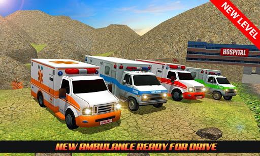 Code Triche Ambulance Rescue Driving 2017 mod apk screenshots 2