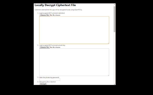 PGP Local Decrypt