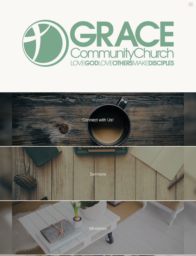 Grace Community Church Ramona- screenshot