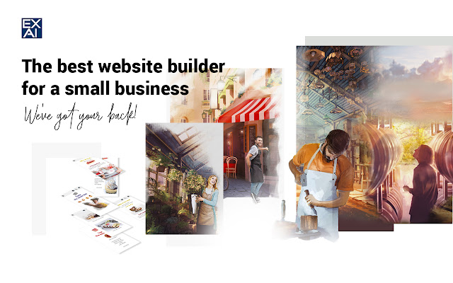 EXAI-Best Website Builder for Small Business