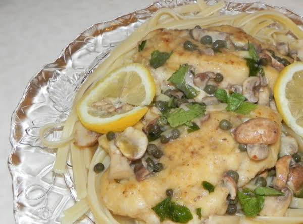 Italian Chicken Piccata Recipe