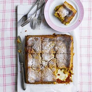Vegan Rhubarb & Custard Bake Recipe