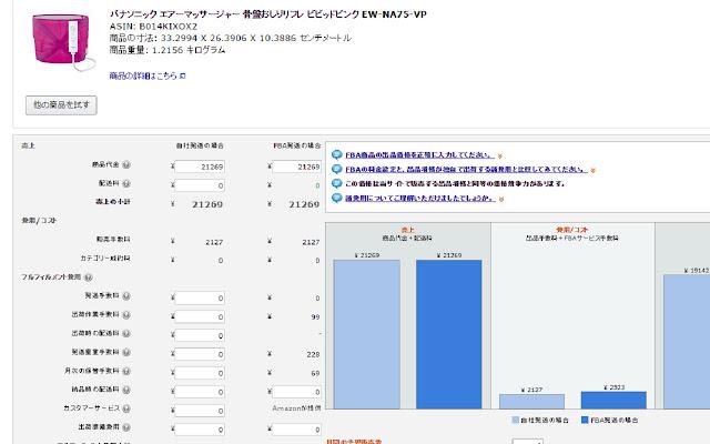 Amazon FBA Calculator Widget