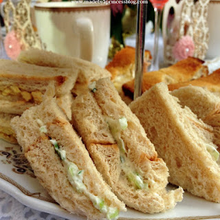 Benedictine Cucumber Tea Sandwiches