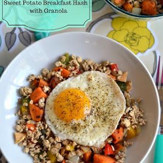 Sweet Potato Breakfast Hash With Granola