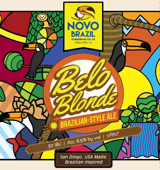 Logo of Novo Brazil Belo Blonde