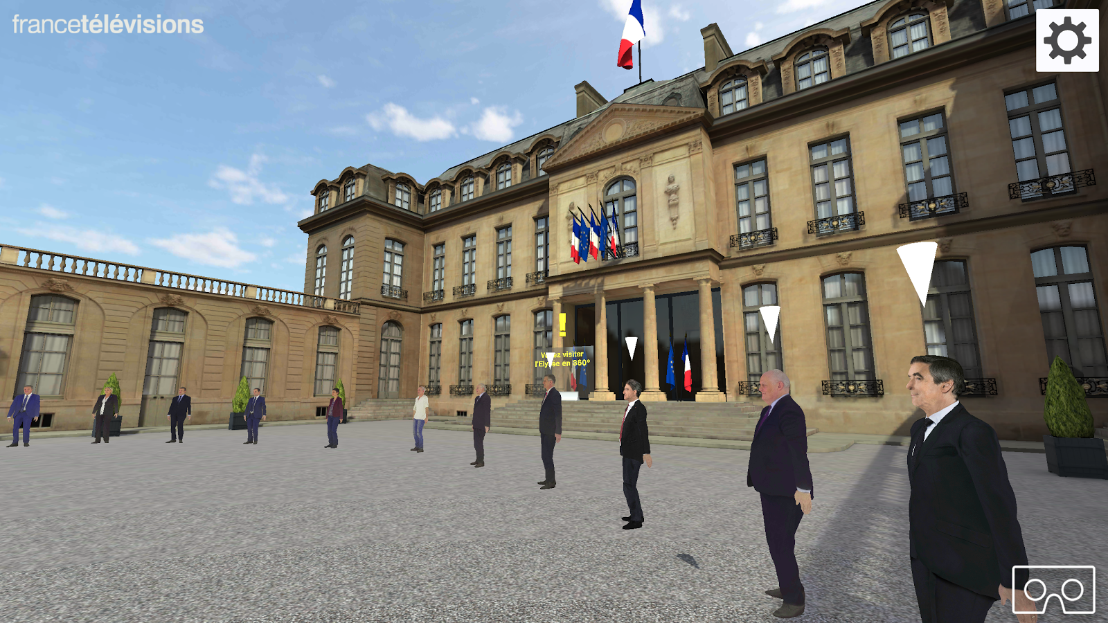 Présidentielle 2017 VR- screenshot