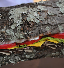 """Photo: A detail of Brent Owens' """"Party Sub"""" (2012)"""