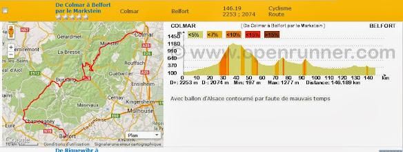 Photo: Colmar - Belfort par le col du Platzerwasel et Le Thillot
