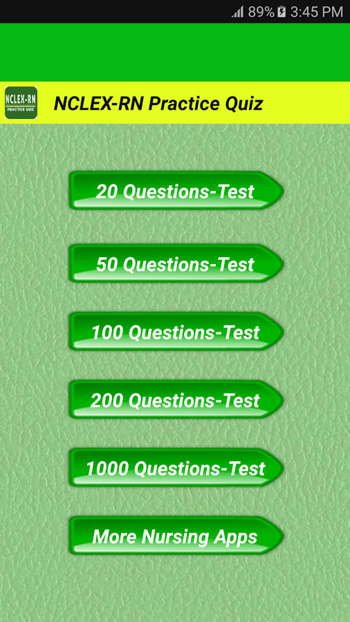 Nclex study questions apps