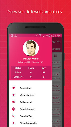 Followers Assistant Plus 1.5.5 gameplay | AndroidFC 1