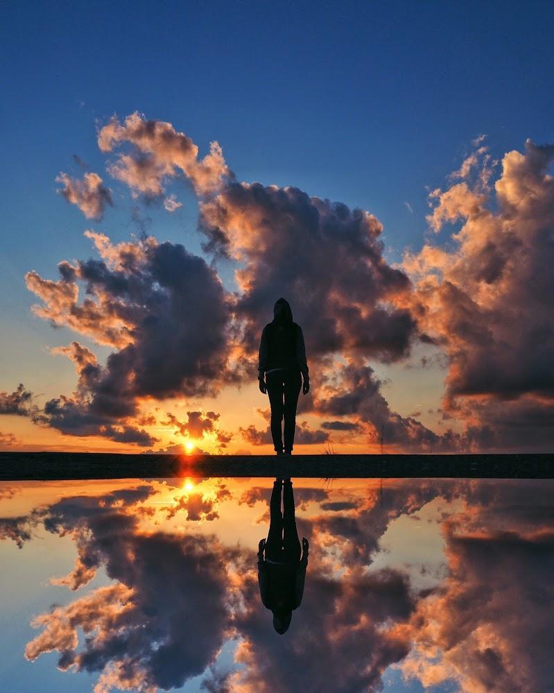 Dentro il tramonto  di maxlazzi