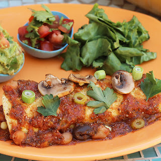 Bean & Corn Enchiladas