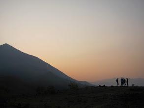 Photo: Sun rise at Bhattara Mane area. 5 KM from Kukke
