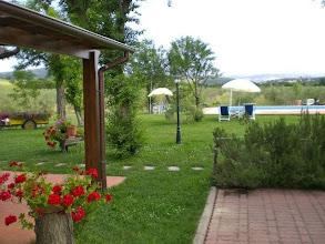 Photo: Il nostro giardino ... agriturismo saturnia terme girasole terzuolo