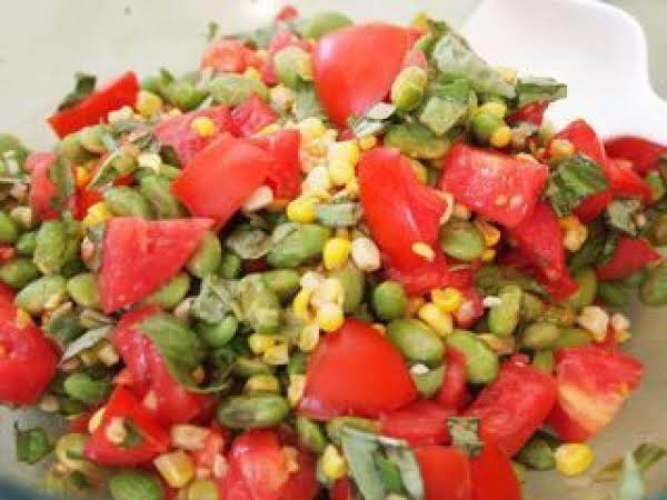 Roasted Edamame Salad Recipe