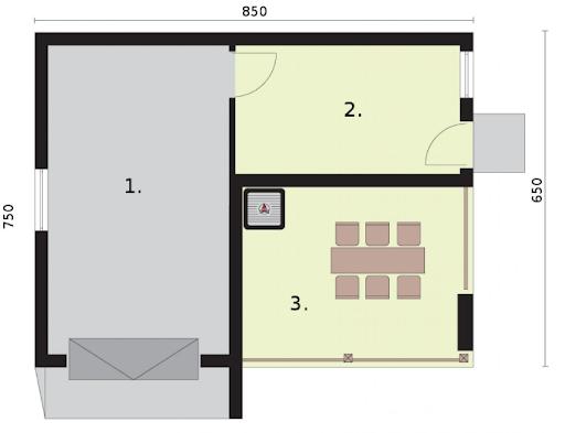 G264 - Rzut garażu