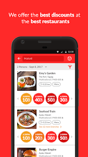 BigDish - Restaurant Discounts- screenshot thumbnail