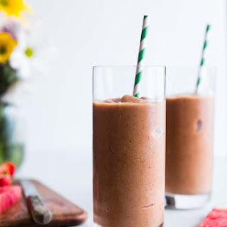Healthy Strawberry Watermelon Smoothie Recipe
