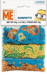 Despicable Me confetti