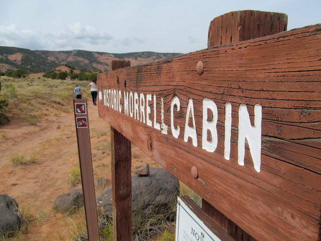 Morrell Cabin trailhead