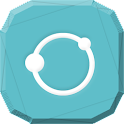 Blue and White Icon Pack icon