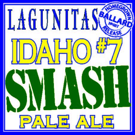 Logo of Lagunitas Idaho 7 S.M.A.S.H.