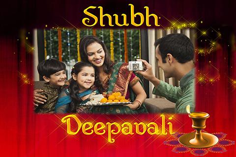Happy Deepavali Photo Frames