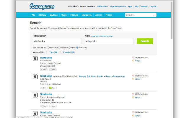 SU Tools: Foursquare extension for Superusers