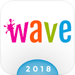 Wave Keyboard Background - Animations, Emojis, GIF 1.61.5
