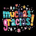 Sticker de Gracias para WAStickerApps icon