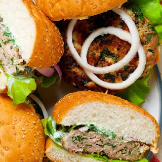 Grilled Jalapeno Turkey Burgers.