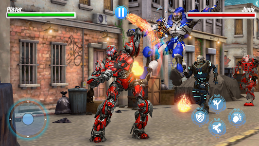 Robot Fight Street Brawl Real Robot Fighting Games 1.7