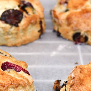 How to Make Thermomix Blueberry Scones.