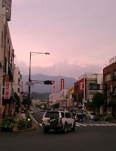 Photo: 駅前から見た中津川市街地