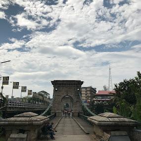 Hanging bridge... by Indhumathi Karthikeyan - Instagram & Mobile iPhone