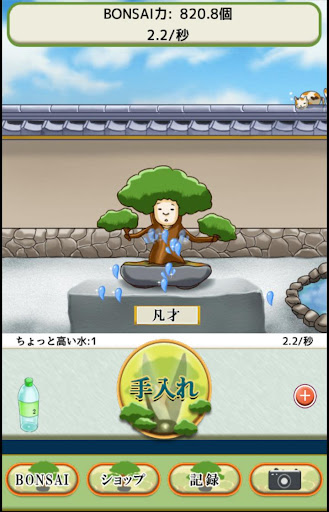 Training left ~ BONSAI ~