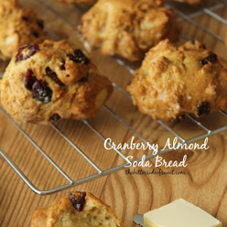 Cranberry Almond Soda Bread Recipe (Luck of the Irish Week)