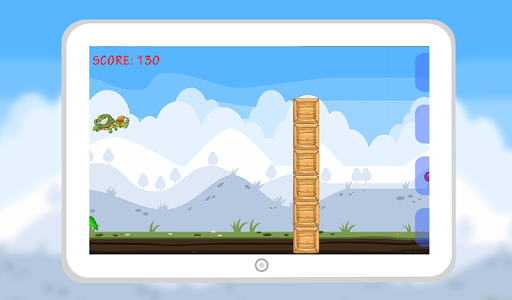 Flying Hungry Turtle Adventure screenshot 2