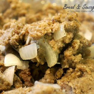 New England Bread and Sausage Stuffing