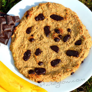 Giant Healthy Chocolate Chip CookieRecipe.