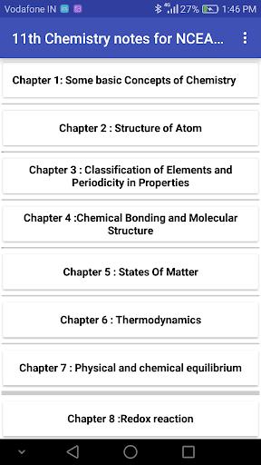 Class 11 Chemistry Notes 2019-2020 screenshots 1