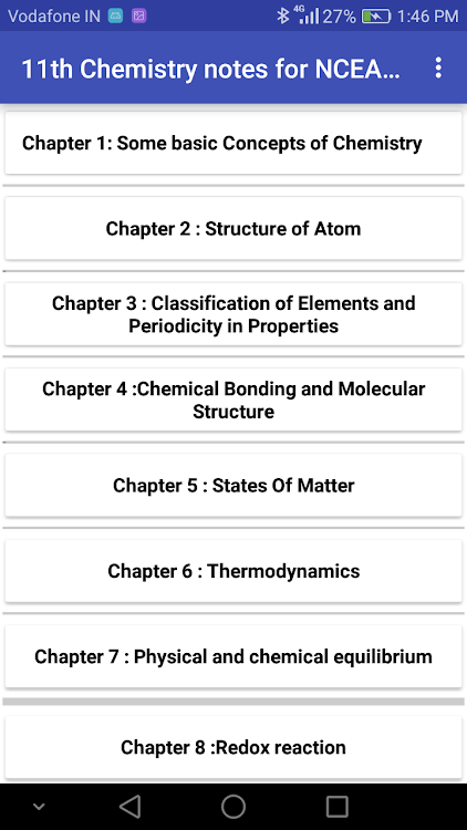 Class 11 Chemistry Notes 2019-2020 – (Android تطبيقات) — AppAgg