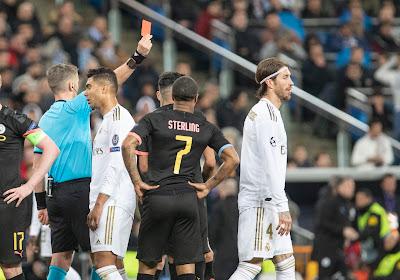 Sergio Ramos égale le record de cartons rouges en Ligue des Champions