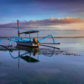 Jukung by Hery Sulistianto - Transportation Boats