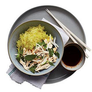 Chicken & Golden Rice